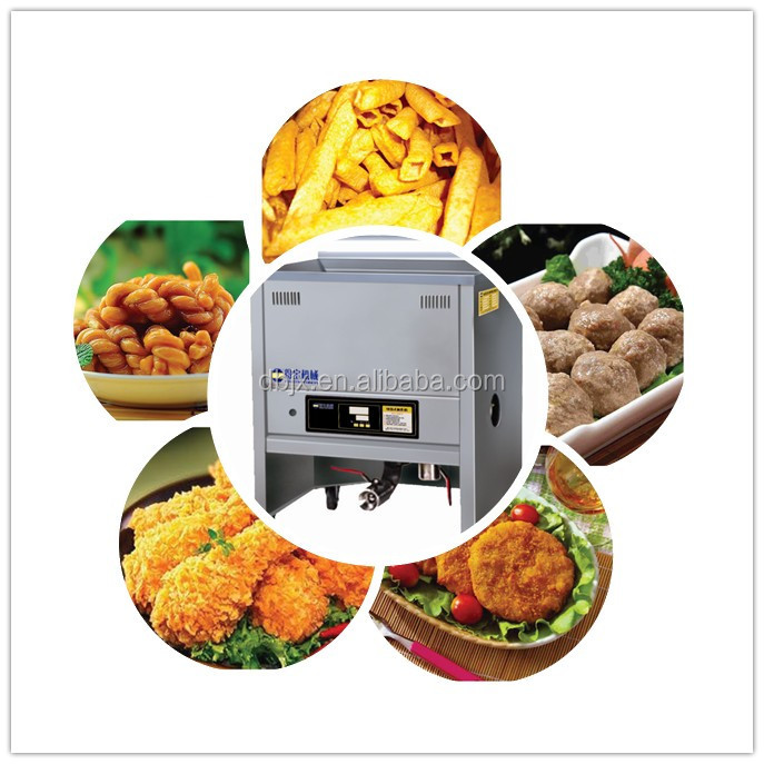 breaded chicken frying machine KFC fried chicken fryer