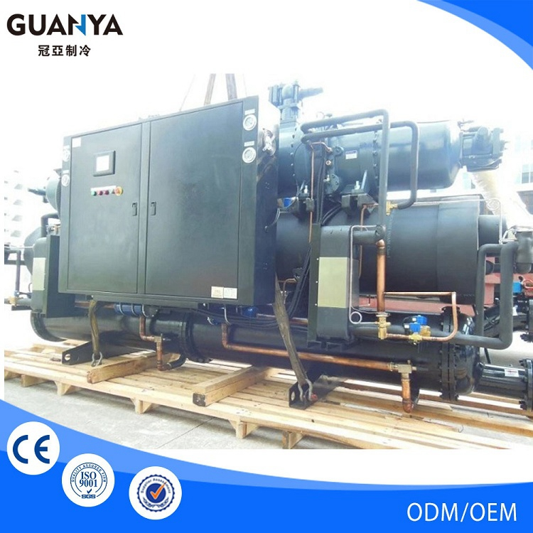 Guanya-100W water cooled chiller container