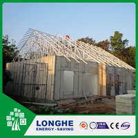Economical light weight sound insulation nonflammable wall panels