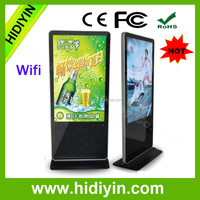 Wonderful ! 55 inch floor standing LCD auto play ad player