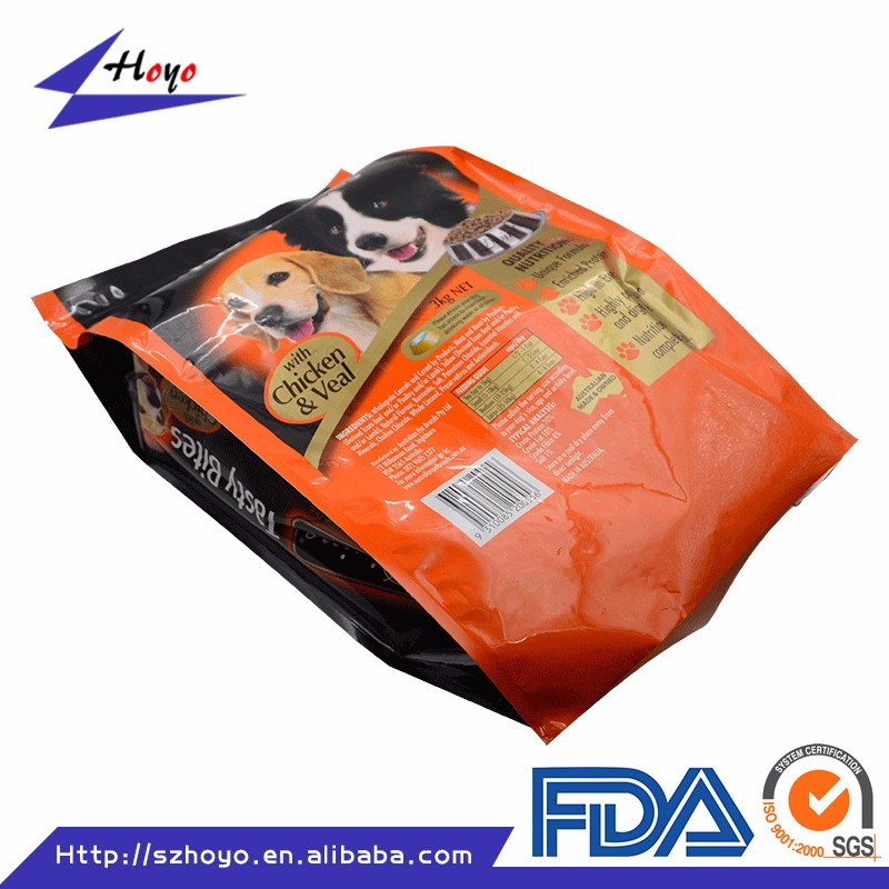 Recyclable Feature 25kg Dog Food Packaging Bag/ Cement Industrial Use Dog Food Packaging Paper Bag