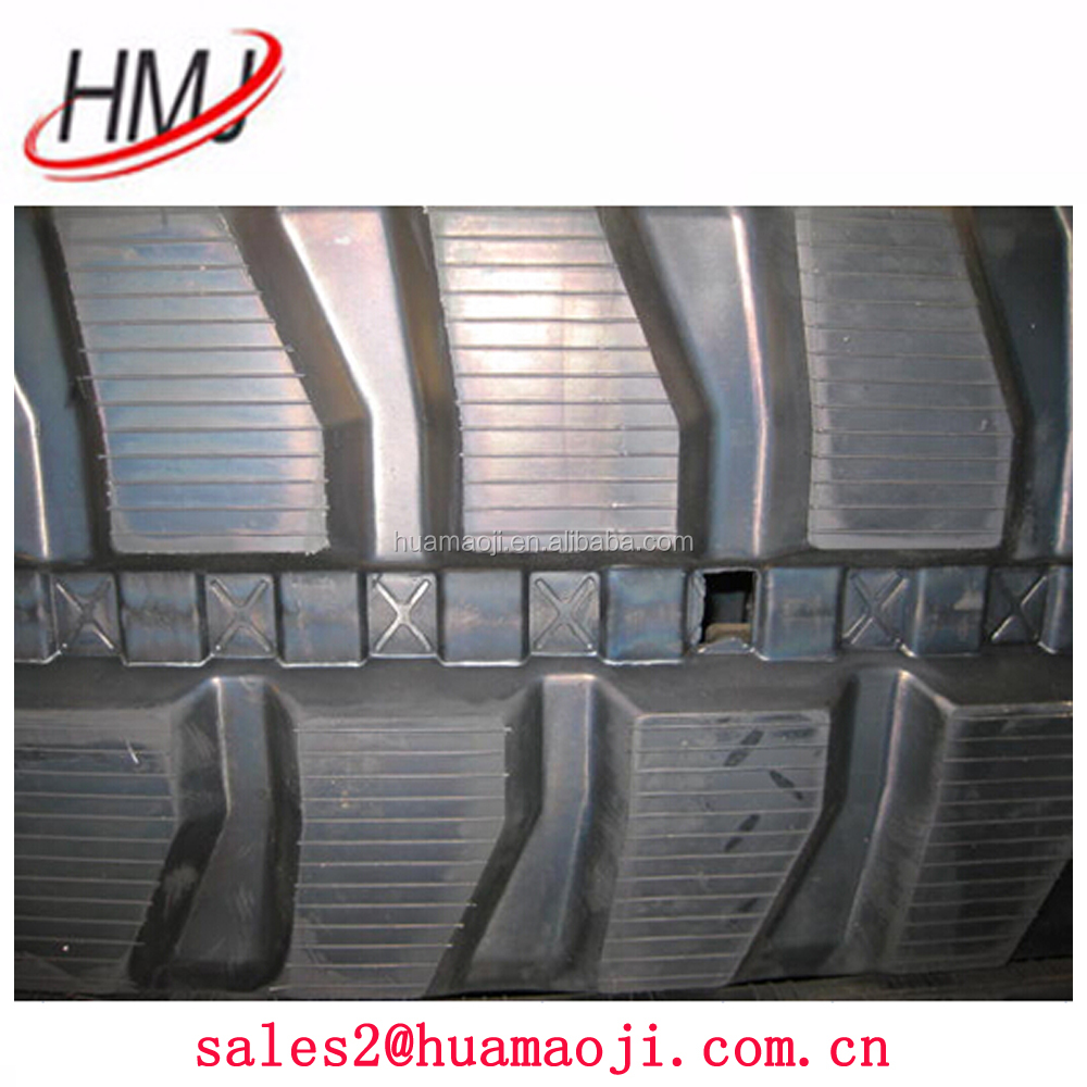Hot sale factory direct price rubber track 450*81*76W travel use