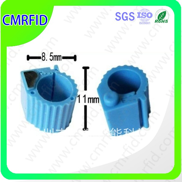 EM4105/EM4005 RFID Ring Tag For Livestock Fowl Tracking And Indentification