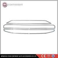 Car exterior accessories ABS chrome body part front grille for american car models