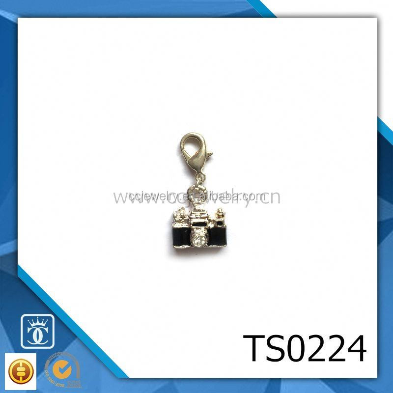 cheap goods from china best selling custom design zinc alloy silver plated hidden camera pendant