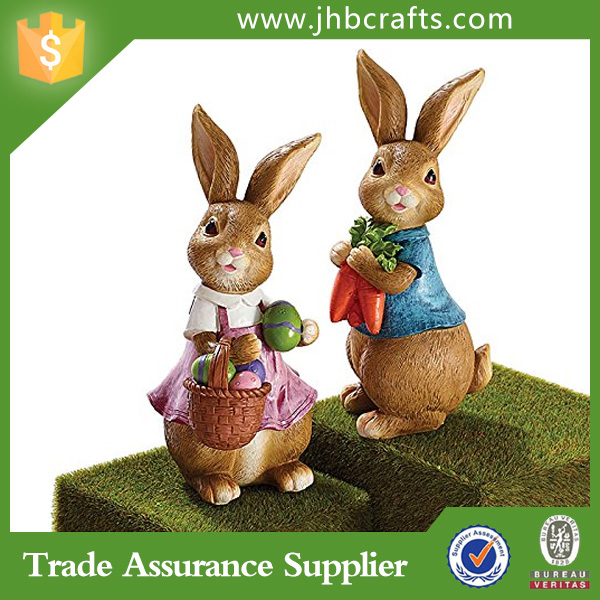 Top Quantity Cheap Easter Bear And Rabbit Easter Craft For Gift