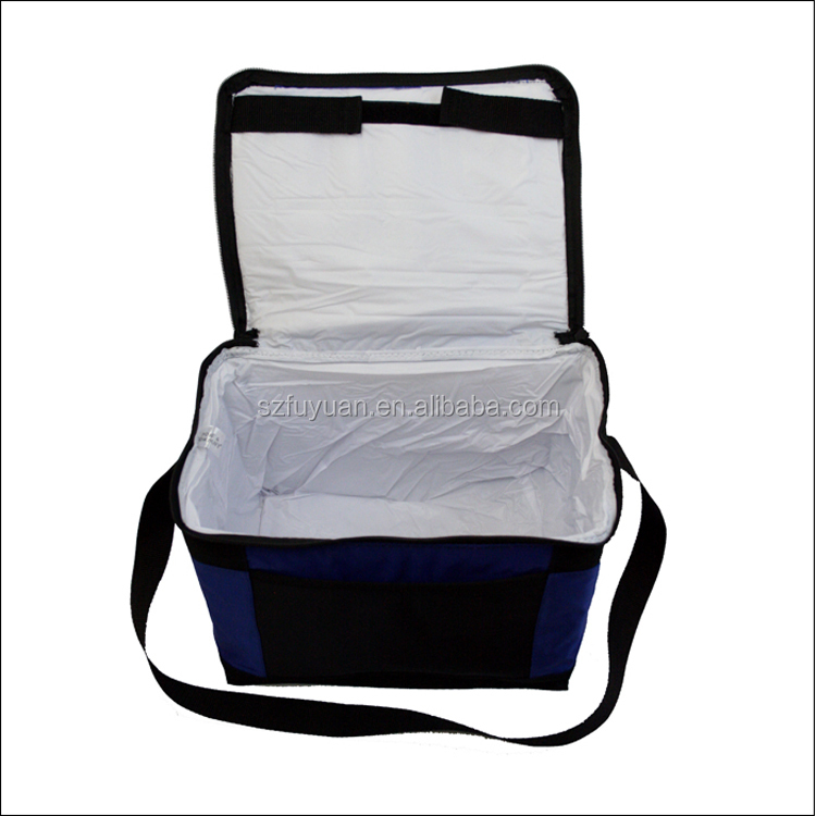 Factory direct produce 6 bottle wine capacity cooler bag for red bull and sandwich