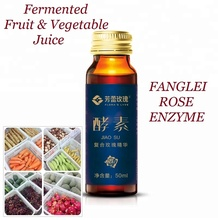 Natural Concentrated Fruit and Vegetable Juice Fermented Rose Enzyme 50ml