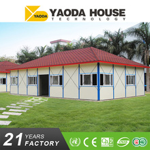 Beautiful appearance low cost prefab houses made in Yaoda facotry