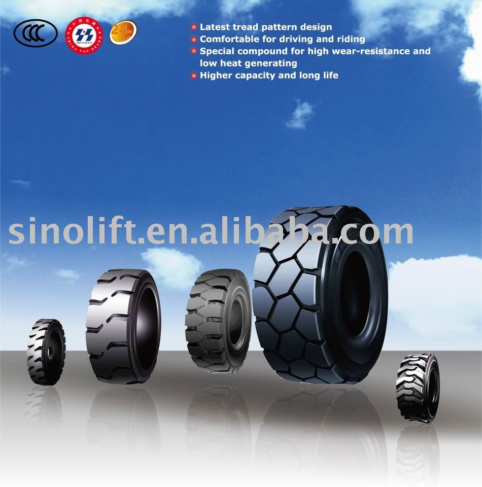 F-811 pneumatic forklift tire