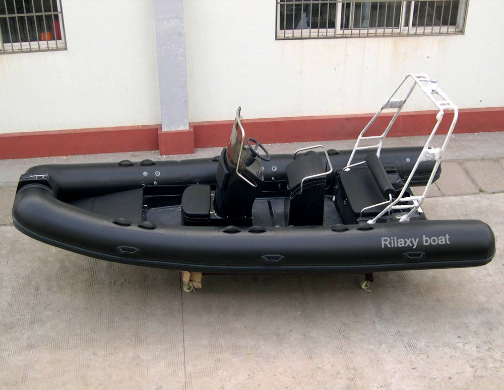 как сделать руль для надувной лодки