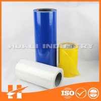 Self adhesive PE plastic film for surface protection