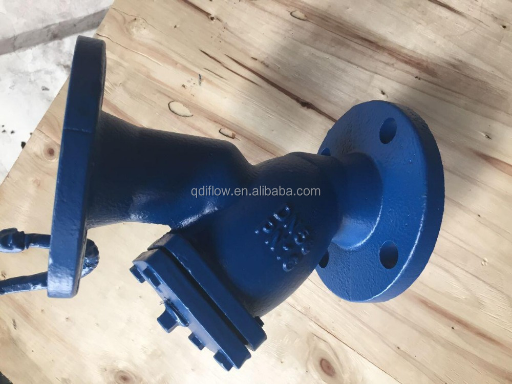 ANSI Class 125 Cast Iron Y-strainer Valves with Flange End