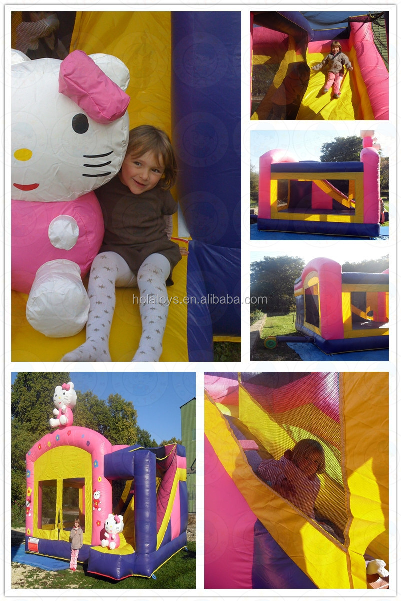 Hola commercial inflatable bouncer for kids/dog inflatable bouncer