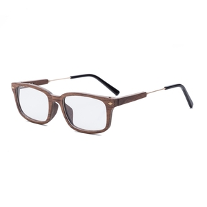 Factory supply trendy high end wood frame wood optical eyeglasses