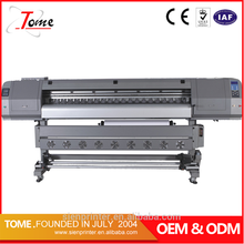 High Resolution Digital Indoor And Outdoor Printing Machine,1.8m dx5 vinyl printer
