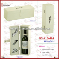 custom leather luxury leather wine box luxury packaging boxes