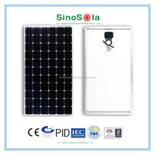 High quality 270w solar panel for pv solar power station 1mw