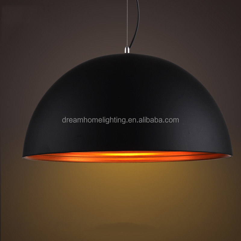 LED double layer half-dome ceiling lamp and pendant lighting