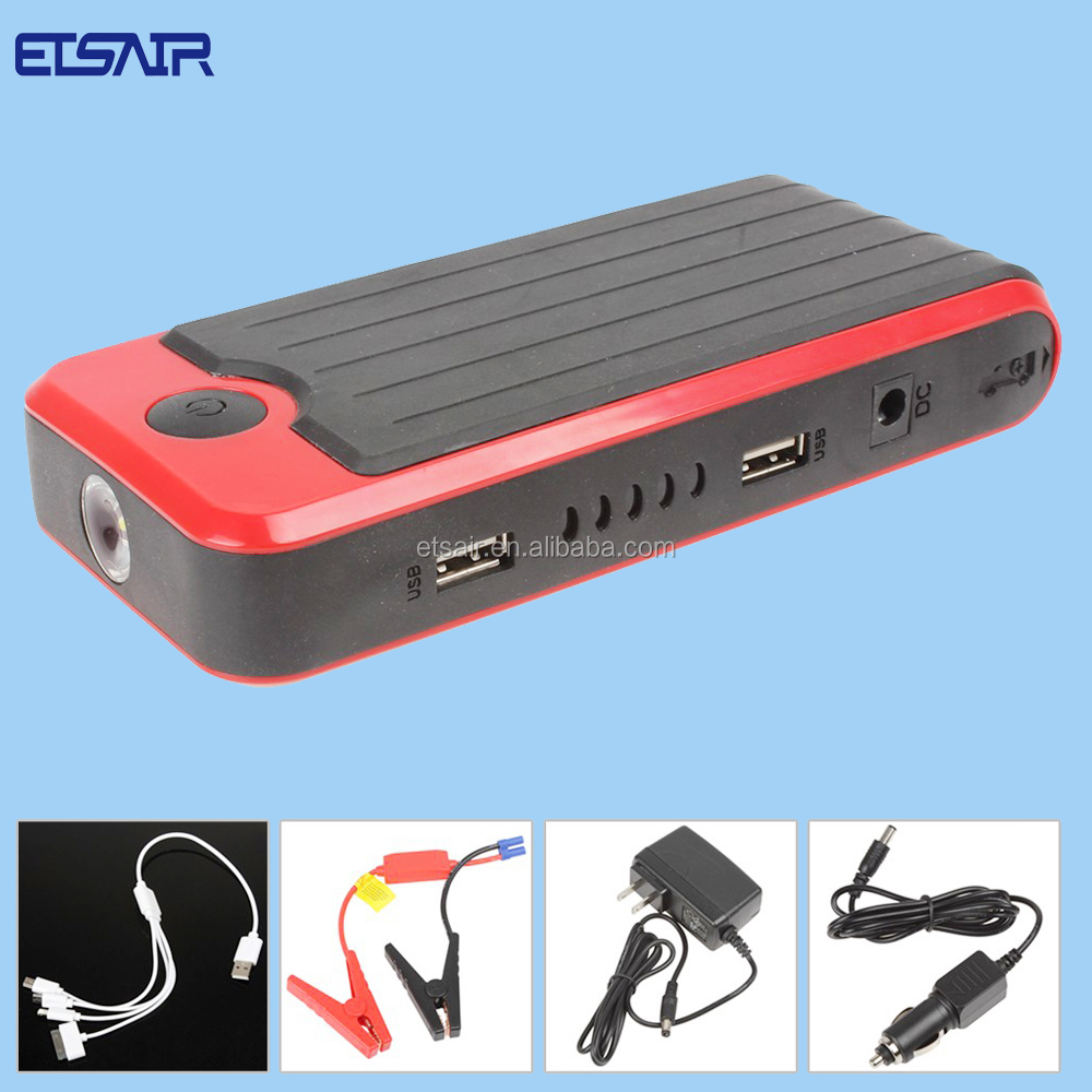 USA Market Hot Portable Car Jump Starter Power Pack (with LED flashlight)