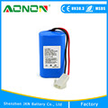 Rechargeable ICR18650 2s1p 7.4v 2200mah li ion Battery Pack