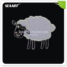 Garment Accessories Factory Wholesale Sheep Embroidery Applique For Clothing Decoration