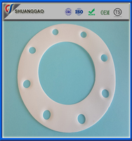 Factory price virgin ptfe raised face flange gasket