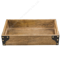 Wholesale Eco-friendly Wood Serving Platter for Tea Coffee Wine