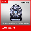 New style usb battery table fan for children or old man