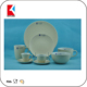 china factory stoneware dinnerware green color ceramic dinner set