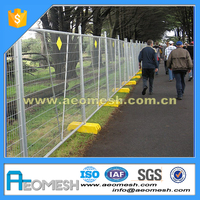 CO removeable temporary Australian fence/ cheap yard fencing with plastic base