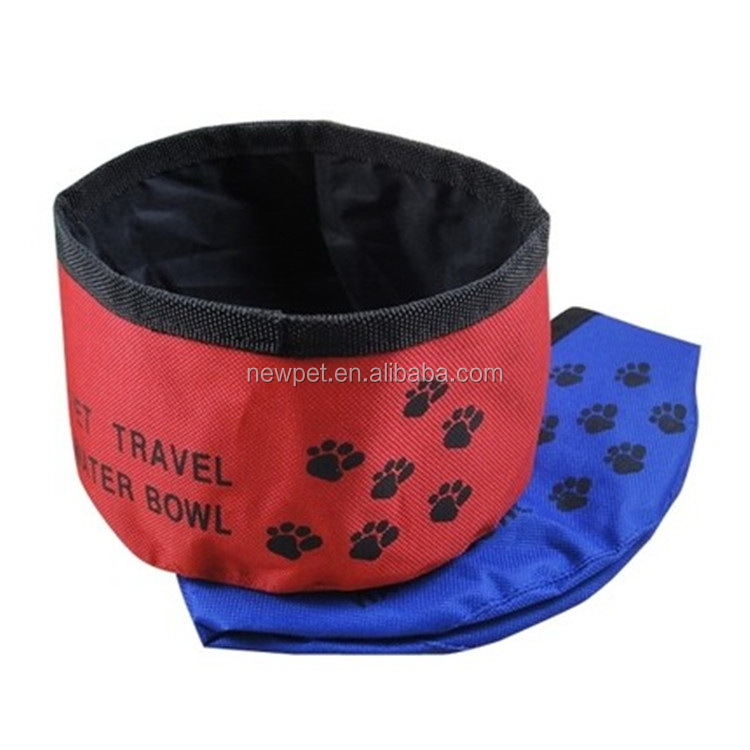 China goods hot sell oxford cloth waterproof travel bowl magnetic dog bowl mat
