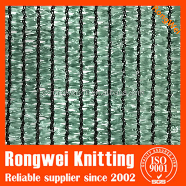HDPE green color garden sun shade net with grommets(eyelets) for greenhouse