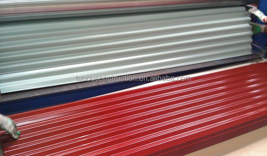 2015 Hotsale! indonesia colorful asphalt metro roof shingles steel roof sheet best quality supplier