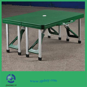 Portable Folding Plastic Outdoor Dining Table