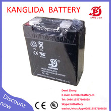4v 3ah small storage rechargeable battery for led light