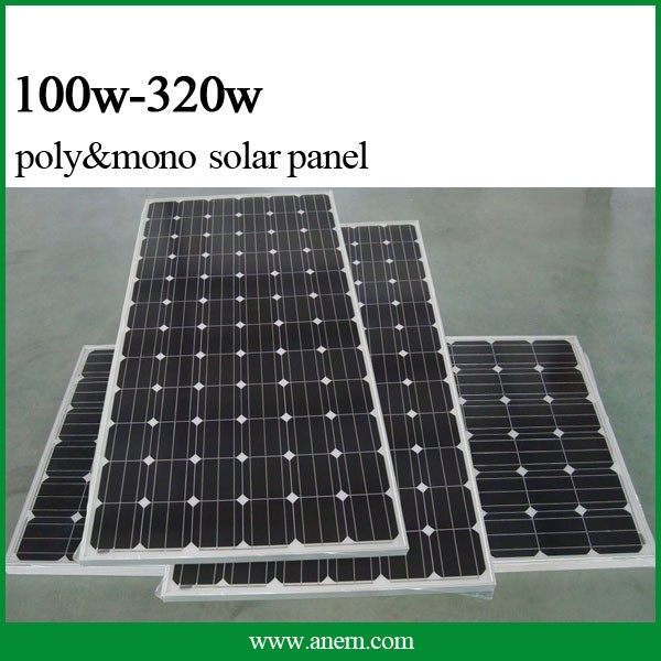 The newest product high efficiency 250w solar panels in dubai