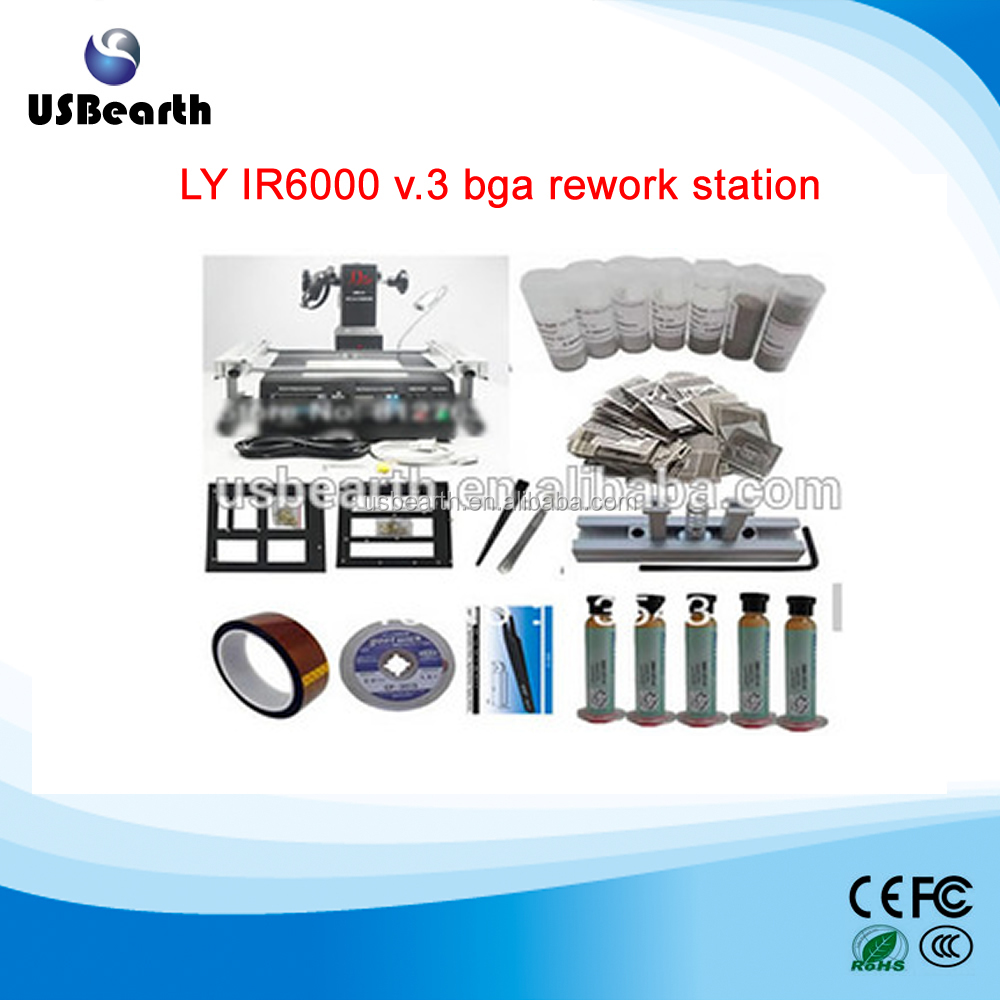 LY IR6000 v.3 bga rework station, motherboard repair tool, BGA Repair soldering machine reballing kit