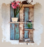 Wooden Rustic Wall Shelf /Wall Mount Shelf For Home