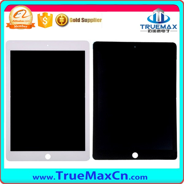 Factory Wholesale LCD Display With Digitizer for iPad 6, LCD Touch Screen Assembly for iPad Air 2