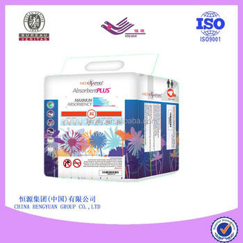 comfortable hot sale high absorption disposable adult diapers