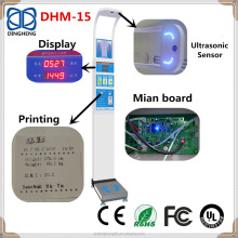 DHM-15 200kg Height and Weight Measuring Instrument Scale with Height Rod
