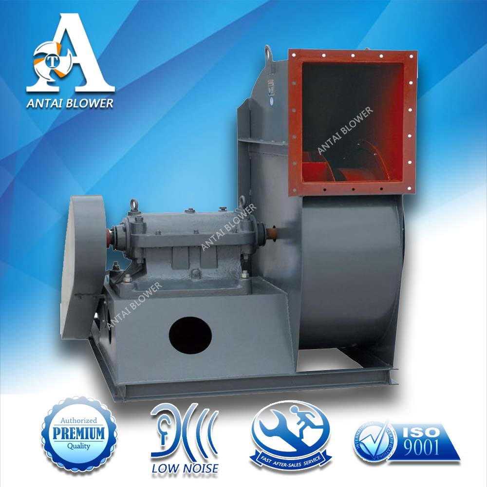 Factory wholesale V-belt driven boiler waste gas dust collecting blower fan