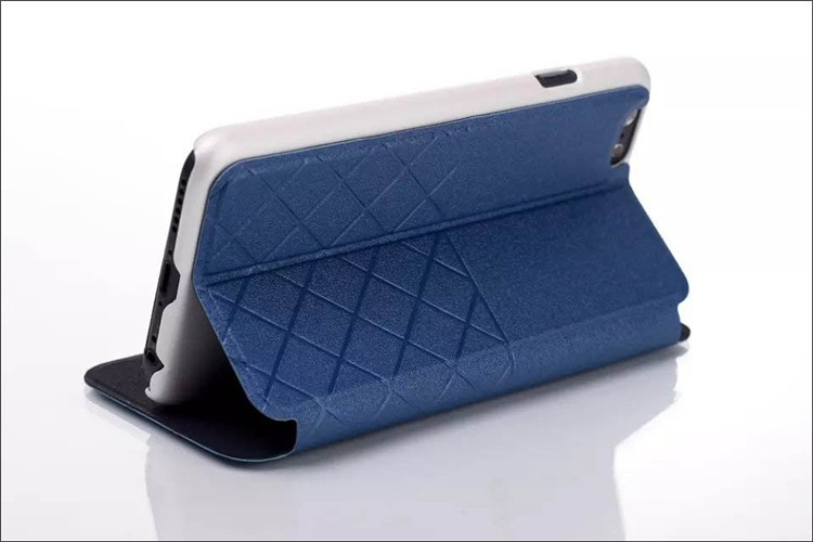 Small Waistline Design magnet wallet stand case for iphone 6