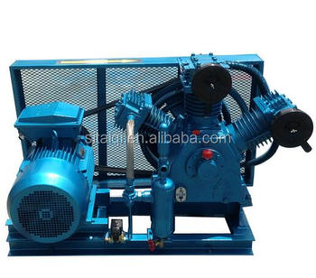 CWF-60/30 Belt unit air-cooled marine Type air compressor 3.0MPa