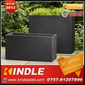 Kindle 2013 New polychrome stanless steel flower pot planter for garden and hotel with 31 years experience
