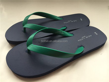 Eco-friedly Navy Blue men beach slipper classic china cheap flip flops