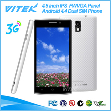 Alibaba China 4.5 inch Dual Core Android Kitkat 3G No Brand Cell Phone