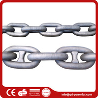 Boat Alloy Steel Black Painted Anchor Chain