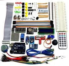 High Quality Best Price Ultimate Starter Kit for uno 1602 LCD Servo Motor LED Relay RTC